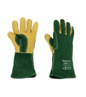 Gants de protection pour  Manutentions lourdes, soudure ARC et MIG - GREEN WELDING PLUS, Honeywell