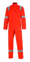 Combinaison de travail 1ZIP ULTRA-FR orange Cepovett ( NOMEX, ATEX)