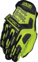 Gants de protection de sécurité militaire safety M-pact Jaune Mechanix wear soluprotech