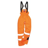 Pantalon de travail HV Antistatique doublé orange PORTWEST
