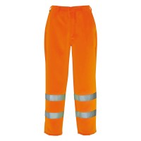 Pantalon de travail HiVis Polycoton orange PORTWEST