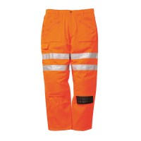 Pantalon action rail Orange PORTWEST