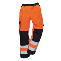 Pantalon de travail HV Lyon orange / marine PORTWEST