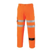 Pantalon métier du Rail orange PORTWEST