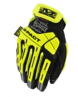 Gants robuste de protection de sécurité militaire Jaune SAFETY M-PACT 2 Mechanix wear soluprotech