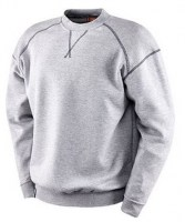 SWEAT GRIS POLYESTER-COTON CERVINIA Soluprotech