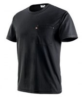 T-SHIRT NOIR POLYESTER GB DRY Soluprotech