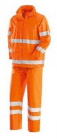 VESTE-PANTALON PLUIE ORANGE POLYESTER NEW OSLO Soluprotech