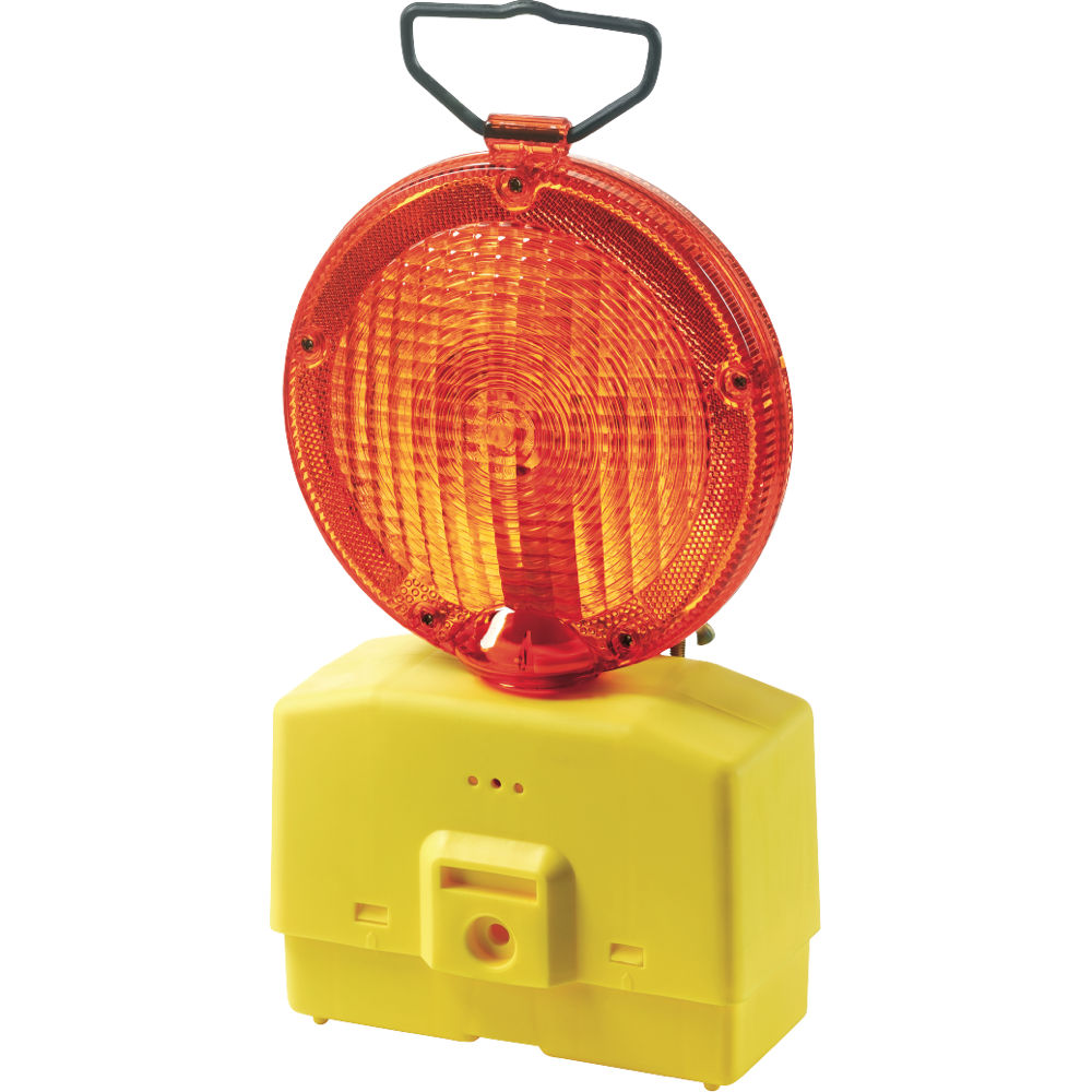 Balise De Chantier Double Face JAUNE pour la route (LED)