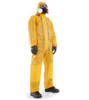 Spacel C Medium - Combinaison orange type 3,4,5&6, antistatique, particules radioactives, protection agents biologiques. Taille S à XXXL, HON-4506001