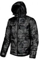 ANORAK DE TRAVAIL SKYLINE DARK CAMOUFLAGE U-POWER EXCITING