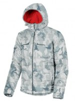 ANORAK DE TRAVAIL SKYLINE GREY CAMOUFLAGE U-POWER EXCITING