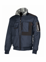 BLOUSON BOMBER DE TRAVAIL U-POWER MATE Deep Blue, UPO-HY108DB