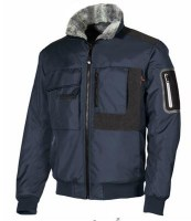 BLOUSON BOMBER DEPERLANT DE TRAVAIL BUDDY DEEP BLUE U-POWER HAPPY