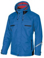 BLOUSON DE TRAVAIL SNOW BLUE NEON U-POWER DON'T WORRY