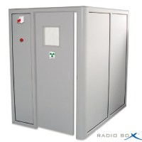 Cabinet dentaire de radioprotection PB 1mm 2 COTES soluprotech