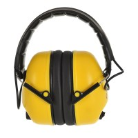 Casque antibruit électronique jaune PORTWEST
