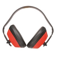 Casque anti-bruit classic rouge PORTWEST