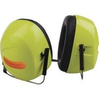 Casque antibruit SNR 30 DB jaune fluo Delta plus