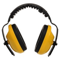 Casque antibruit classic plus jaune PORTWEST