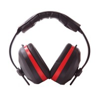 Casque antibruit confort noir PORTWEST