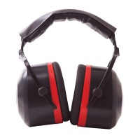 Casque antibruit noir PORTWEST