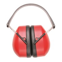 Casque anti-bruit rouge PORTWEST
