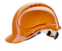 Casque de protection en ABS E1 ( ORANGE)