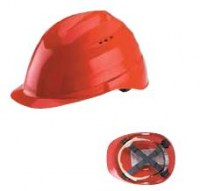 Casque de protection ultra léger Terano ( Rouge)