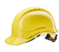 Casque de protection en ABS E1 ( Jaune)