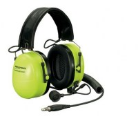 Casques de communication 3M Headset Ground Mechanic pliable Hi-Viz