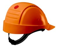 Casques de protection 3M Peltor G2000 non ventilés, UVICATOR, ABS, harnais standard, basane synthétique G2001CUV-OR ORANGE