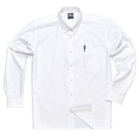 Chemise Oxford manches longues blanche PORTWEST