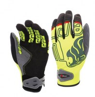 GANTS TECHNIQUE DE TRAVAIL BIKER YELLOW FLUO U-POWER GP