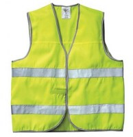 GILET JAUNE POLYESTER NEW WAY Soluprotech