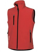 GILET DE TRAVAIL CLIMB RED MAGMA U-POWER DON'T WORRY