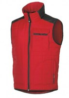 GILET DE TRAVAIL STEP RED MAGMA U-POWER EXCITING
