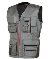 GILET MULTIPOCHES DE TRAVAIL FUN STONE GREY U-POWER HAPPY