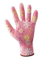 Gants  100%  en polyester / NBR  (NBR Fancy)