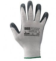 Gants  en 100% nylon /  mousse nitrile transparente (NBR 999 FOAM)