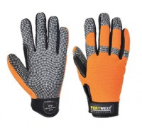 Gant confort grip haute performance orange / gris PORTWEST