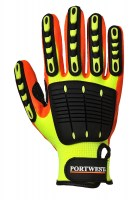 Gant de travail Anti Impact Grip orange / jaune PORTWEST
