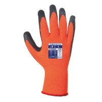 Gant thermique enduit latex orange / noir PORTWEST