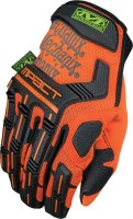 Gants de protection de sécurité militaire safety m-pact Orange Mechanix wear soluprotech