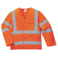 Gilet HV retardateur de flamme manches longues Orange PORTWEST