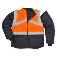 Gilet HiVis Bicolore réversible orange / marine PORTWEST