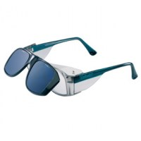 Lunettes de protection HORIZON, branches bleues 52x16, Granyt 0, Honeywell