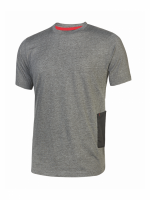 Lot de 3 T-SHIRT MANCHES COURTES DE TRAVAIL U-POWER ROAD Grey Meteorite, UPO-EY138GM