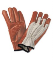 Gants de protection Worknit, support coton revêtement jersey à rayures noires, Honeywell