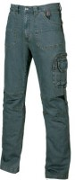 PANTALON JEAN STRETCH DE TRAVAIL TRAFFIC RUST JEANS U-POWER SMART